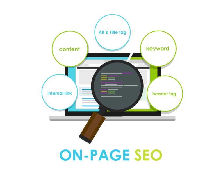 Website Design in On-Site-Optimization
