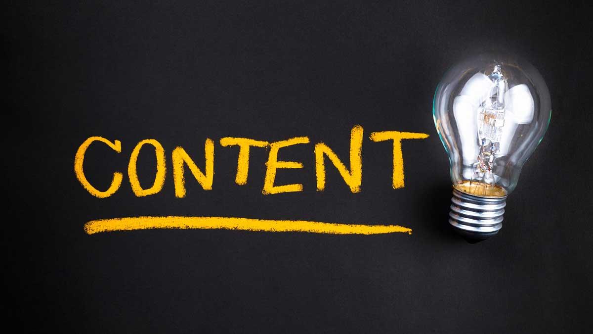 Website Design - Quality Content