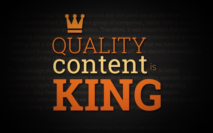 Content-is-Indeed-King